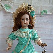 Винтаж ручной работы. Ярмарка Мастеров - ручная работа Скидка!Антикварная кукла Jumeau модель 1907 рост 65 см. Handmade.