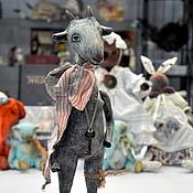 Куклы и игрушки ручной работы. Ярмарка Мастеров - ручная работа Козочка Гелла. Handmade.