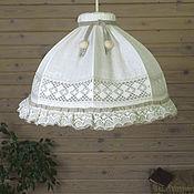 Для дома и интерьера handmade. Livemaster - original item Ceiling hanging lamp Shabby Chic. Handmade.