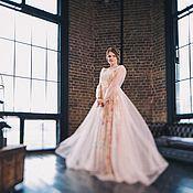 """Свадебный салон ручной работы. Ярмарка Мастеров - ручная работа Свадебное платье """"Розовая пыль"""". Handmade."""
