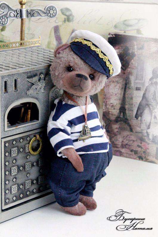 Мишки Тедди ручной работы. Ярмарка Мастеров - ручная работа. Купить Мишка Тедди Вовка. Handmade. Мишка, теддик, teddybear