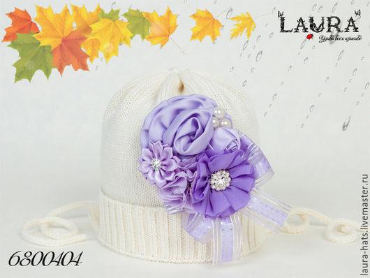 Шапки и шарфы ручной работы. Ярмарка Мастеров - ручная работа. Купить Шапочка для девочки Детская шапка для девочки Шапочка на осень. Handmade.