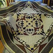 Для дома и интерьера handmade. Livemaster - original item blanket. Patchwork quilt