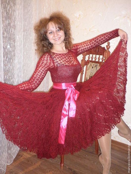 """Платья ручной работы. Ярмарка Мастеров - ручная работа. Купить Платье """"Бастардо"""". Handmade. Бордовый, вечернее платье"""