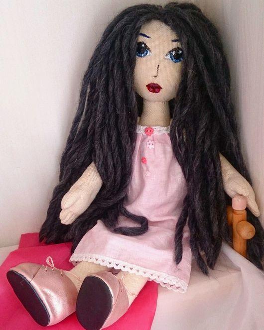 Коллекционные куклы ручной работы. Ярмарка Мастеров - ручная работа. Купить Кукла текстильная. Кукла игровая интерьерная авторская.. Handmade.