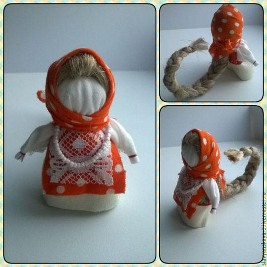 Народные куклы ручной работы. Ярмарка Мастеров - ручная работа. Купить Куколка На Счастье. Handmade. Комбинированный, кукла текстильная