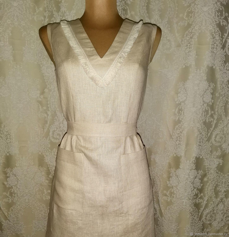 linen dress. Pocahontas, Dresses, Podolsk,  Фото №1