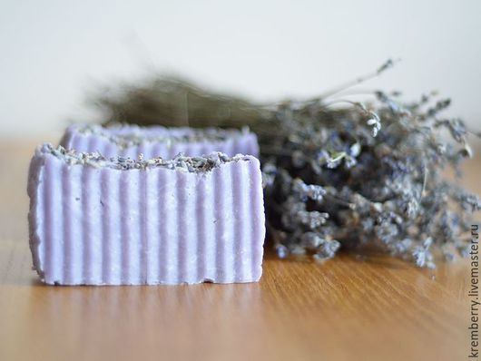 """Мыло ручной работы. Ярмарка Мастеров - ручная работа. Купить Мыло с нуля """"Lavender"""". Handmade. Мыло натуральное, мыло для женщин"""