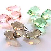 Материалы для творчества handmade. Livemaster - original item Beads briolette glass 3 colors. Handmade.