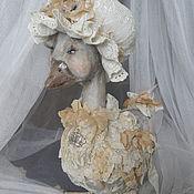 """Куклы и игрушки ручной работы. Ярмарка Мастеров - ручная работа Уточка """"Шарлотта"""". Handmade."""