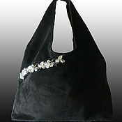 Сумки и аксессуары handmade. Livemaster - original item Bag made of suede.