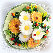 Косметика ручной работы. Ярмарка Мастеров - ручная работа Букет  Утро сентября 9 цветов, можно 7 цветов в подарок учителю. Handmade.