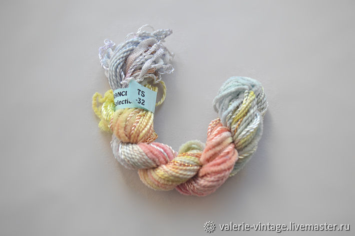 Mix of 5 different threads for embroidery (№32), Thread, Moscow,  Фото №1