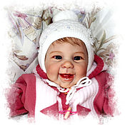 Куклы и игрушки ручной работы. Ярмарка Мастеров - ручная работа Кукла реборн Maizie (Мэйзи)  by Andrea Arcello. Handmade.