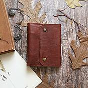 Канцелярские товары handmade. Livemaster - original item Notebook in leather cover. Handmade.