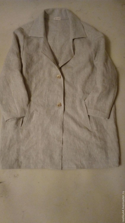 Robe oversize linen' City', Raincoats and Trench Coats, Stupino,  Фото №1