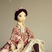 Куклы и игрушки ручной работы. Ярмарка Мастеров - ручная работа Настасья - авторская текстильная кукла. Handmade.