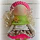 Коллекционные куклы ручной работы. Ярмарка Мастеров - ручная работа. Купить Кукла-малыш. Handmade. Фуксия, кукла в подарок, брадсы