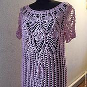 Одежда ручной работы. Ярмарка Мастеров - ручная работа платье Сиреневый туман. Handmade.