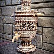 Для дома и интерьера ручной работы. Ярмарка Мастеров - ручная работа Самовар ажурный. Handmade.