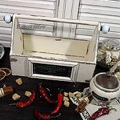 """Для дома и интерьера ручной работы. Ярмарка Мастеров - ручная работа """"Provence"""" полочка-корзинка. Handmade."""