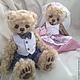 Мишки Тедди ручной работы. Свадебная пара в Бохо стиле. Larisa Koh Toys & Bears. Ярмарка Мастеров.