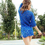 Одежда handmade. Livemaster - original item Summer crochet tunic