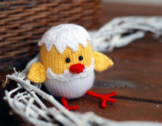 """Обучающие материалы ручной работы. Ярмарка Мастеров - ручная работа. Купить Мастер-класс """"Цыпленок, вылупившийся из яйца. Подготовка к пасхе"""". Handmade."""