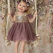 Работы для детей, ручной работы. Ярмарка Мастеров - ручная работа Сошью на заказ красивое детское платье,по вашим размерам и желаниям. Handmade.