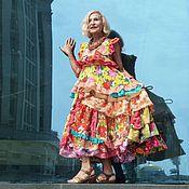 Одежда ручной работы. Ярмарка Мастеров - ручная работа И хорошее настроение..... платье. Handmade.