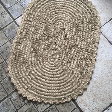 Для дома и интерьера ручной работы. Ярмарка Мастеров - ручная работа Коврик универсальный. Handmade.