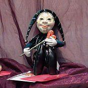 Куклы и игрушки ручной работы. Ярмарка Мастеров - ручная работа Кукла из капрона Паяц. Handmade.