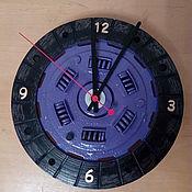 Для дома и интерьера ручной работы. Ярмарка Мастеров - ручная работа Часы настенные Сцепление. Handmade.