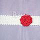 Шапки и шарфы ручной работы. Ярмарка Мастеров - ручная работа. Купить Красивые вязаные повязки (6 вариантов повязок) для девочки. Handmade.
