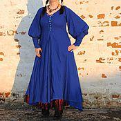 """Одежда ручной работы. Ярмарка Мастеров - ручная работа Платье """"Синева"""". Handmade."""