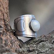 Украшения handmade. Livemaster - original item The ring is silver Moon with a moonstone. Handmade.