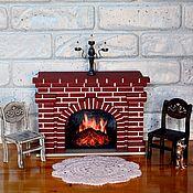 Для дома и интерьера handmade. Livemaster - original item Fireplace for dolls. Handmade.