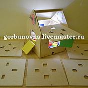 Куклы и игрушки handmade. Livemaster - original item Playsets: Developing House