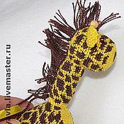 """Одежда ручной работы. Ярмарка Мастеров - ручная работа Слингоигрушка """"Жираф"""". Handmade."""