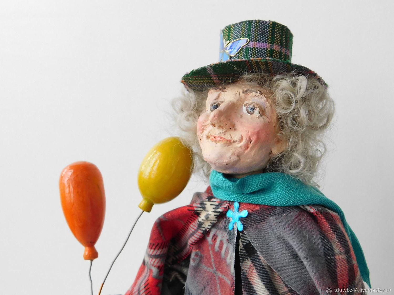 Авторская кукла ВСЕ В ЦИРК, Портретная кукла, Москва,  Фото №1