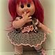 Человечки ручной работы. Заказать Вязаная кукла Лора.. IRINA KOREN. Ярмарка Мастеров. Вязаная игрушка, акрил детский