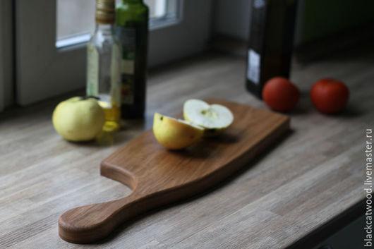 Кухня ручной работы. Ярмарка Мастеров - ручная работа. Купить Доска разделочная/сервировочная. Handmade. Бежевый, доска разделочная