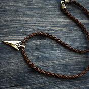 Украшения handmade. Livemaster - original item Pendant on leather cord. Handmade.