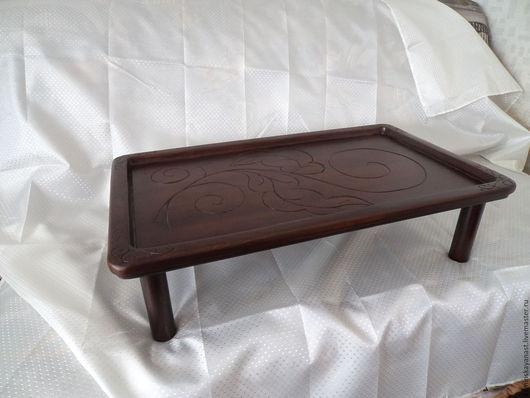 Мебель ручной работы. Ярмарка Мастеров - ручная работа. Купить столик-поднос. Handmade. Коричневый, кофейный столик, сувениры и подарки