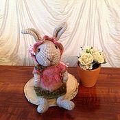 Мягкие игрушки ручной работы. Ярмарка Мастеров - ручная работа Пасхальный ретро кролик. Handmade.