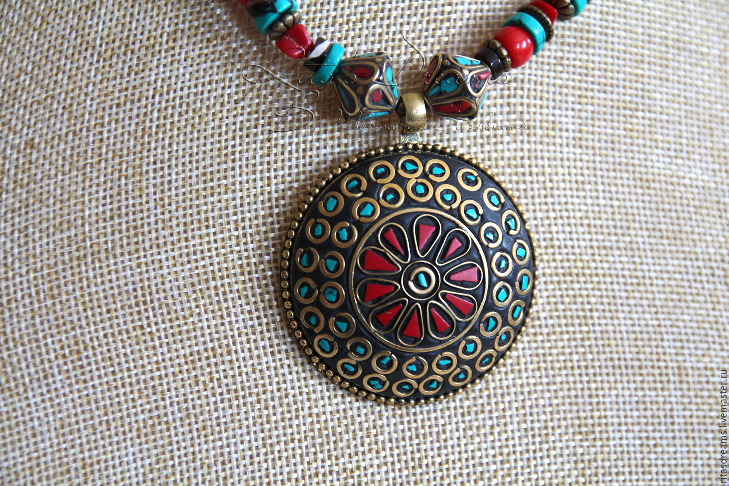 turquoise moon new hand cut pendant tibetan products