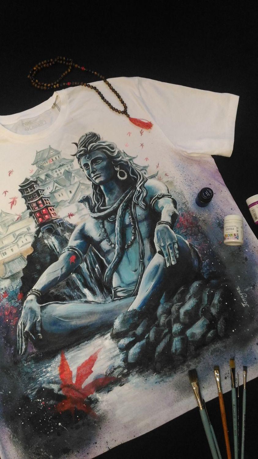 Мужская футболка с рисунком Шивы, Футболки, Казань,  Фото №1