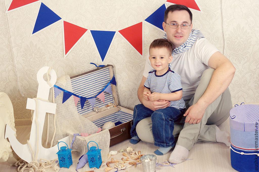Оформление детского дня рождения в морском стиле своими руками 42