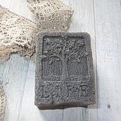 Косметика ручной работы. Ярмарка Мастеров - ручная работа Мыло с черной глиной.. Handmade.