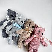 Мягкие игрушки ручной работы. Ярмарка Мастеров - ручная работа Мягкие игрушки: плюшевый мишка. Handmade.